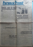 Ziarul nationalist Porunca Vremii , nr. 2494 / 1943 , Antonescu la Tiraspol