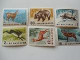 Serie timbre fauna animale nestampilate Bulgaria timbre filatelice postale, Nestampilat