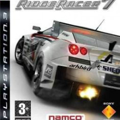 Ridge Racer 7  - PS3 [Second hand], Curse auto-moto, 12+, Multiplayer