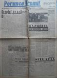 Ziarul de extrema dreapta Porunca Vremii , nr. 2588 / 1943 , Antonescu