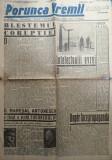 Ziarul nationalist  Porunca Vremii , nr. 2158 / 1942 , Antonescu - Hitler