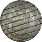 ROMANIA, 100 LEI 1936 DEMONETIZATA * cod 22.11, Nichel
