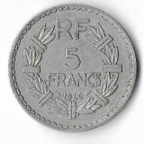 Moneda 5 francs 1946  - Franta, Europa