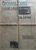 Ziarul nationalist si antisemit Porunca Vremii ,nr. 2401 / 1942 , Artur Enasescu