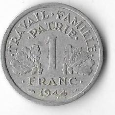 Moneda 1 franc 1944 - Franta, Europa