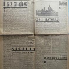 Ziarul de extrema dreapta Porunca Vremii , nr. 2569 / 1943 , Churchill