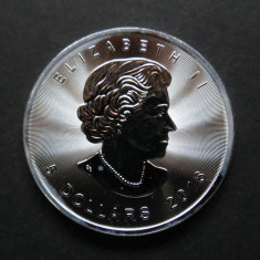 Canada 5 Dollars 2016 - Argint 999, 1 Uncie, America de Nord