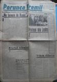 Ziarul nationalist Porunca Vremii , nr. 2393 / 1942 , Antonescu