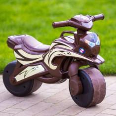 Motocicleta pentru copii Flamingo maro - Vehicul