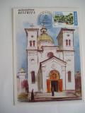 MXM - ARHITECTURA - BISERICA MANASTIRII BISTRITA - PRIMA ZI TARGU JIU 1999, Romania de la 1950