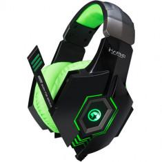 Casti Marvo HG8919 Green Stereo - Casca PC