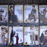 FILM , DVD , COLECTIA CHARLIE CHAPLIN , 8 FILME