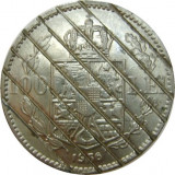 ROMANIA, 100 LEI 1936 DEMONETIZATA * cod 20.11, Nichel