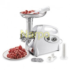 Masina electrica de tocat carne MGB-080 1200W accesoriu carnati - Masina de Tocat Carne