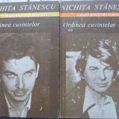 Ordinea Cuvintelor Vol.1-2 - Nichita Stanescu, 407360 - Carte poezie