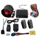 Alarma auto cu sirena si 2 chei tip briceag COD 27