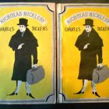 Nicholas nickleby doua 2 volume cartonata supracoperta dickens, Charles Dickens