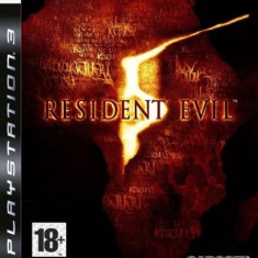 Resident Evil 5 - PS3 [Second hand] - Jocuri PS3, Actiune, 18+, Multiplayer