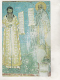 Bnk cp  Biserica Voronet - Mitropolitul Rosca si Daniil Sihastrul - necirculata, Printata