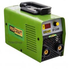Aparat de sudura Invertor Pro Craft 250A amperi - Invertor sudura