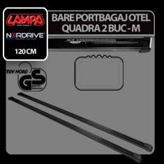 Bare portbagaj otel Quadra, 2 buc - M - 120 cm Profesional Brand - Bare Auto transversale