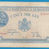 5000 lei 1944 2 Mai 1 - Bancnota romaneasca