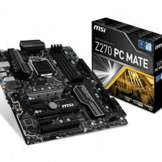 Placa de baza MSI Socket LGA1151, Z270 PC MATE, Intel Z270 Chipset, 4 *DDR4,