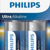 Baterii Philips Ultra Alkaline D 2 buc