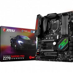 Placa de baza MSI Socket LGA1151, Z270 GAMING PRO CARBON, Intel Z270 Chipset, 4*DDR4,