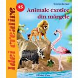 Animale Exotice din Margele 45 - Idei Creative - Carte de colorat