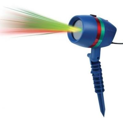 Proiector Laser Star Cu Joc Lumini Verzi Si Rosii Pentru Interior-Exterior foto