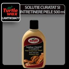Solutie pentru curatat si intretinere piele Turtle wax - crema 500ml Profesional Brand - Cosmetice Auto