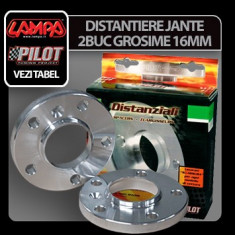 Distantiere jante 2buc 16mm - A20 Profesional Brand