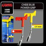 Cheie bujii Power Grip - 16 mm Profesional Brand - Cheie mecanica