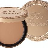Pudra bronzanta Too Faced Milk Chocolate Soleil Light.Medium Matte Bronzer, Compacta