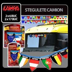 Stegulete camion - 2x17 stegulete Profesional Brand - Decoratiuni botez