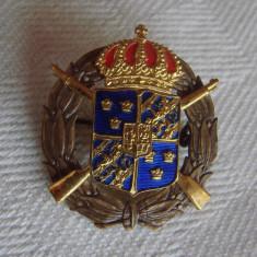 Insigna din perioada regalista - Suedia, Europa