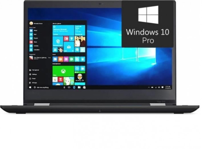 Laptop Lenovo ThinkPad YOGA 370, 13.3 FHD (1920x1080) Multitouch, Intel Core i5-7200U (2.5Ghz, up