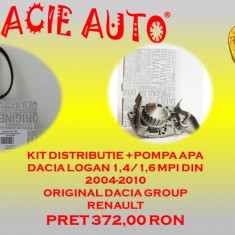 Kit distributie+pompa apa Dacia Logan