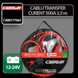Cablu transfer curent 350 cm 12/24V 500A - Carpoint Profesional Brand - Cablu Curent Auto