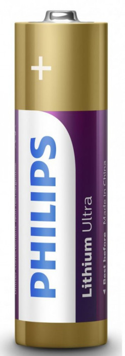 Philips Lithium Ultra AA 4-blister foto mare