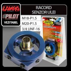 Racord senzor si filtru ulei - 3/4 UNF-16 Profesional Brand - Ceas Auto
