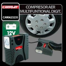 Compresor aer multifunctional digital 12V Profesional Brand - Compresor Service