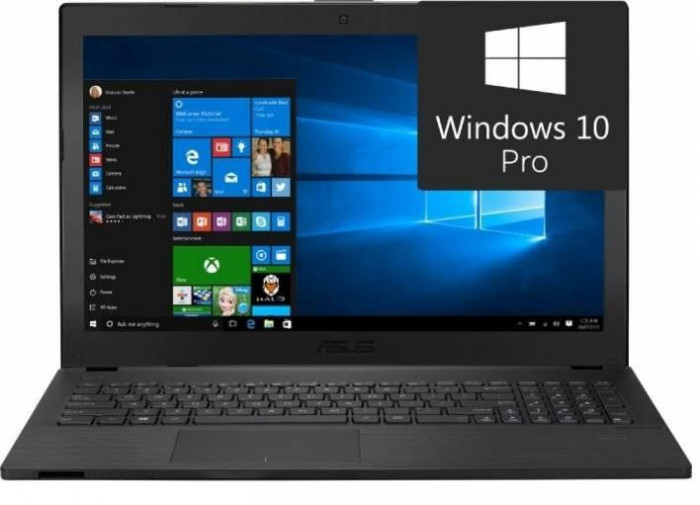 Laptop AsusPro P2540UA-XO0102R, 15.6 FHD (1920x1080) Anti-reflexie, LED Backlit, Intel Core i3-7100U (3M Cache, foto mare