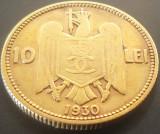 Moneda rara 10 Lei - ROMANIA, anul 1930 *cod 5075   Monetaria LONDRA
