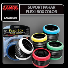 Suport pahar Flexi-Box color Profesional Brand - Ornamente interioare auto