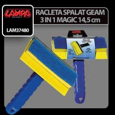 Racleta spalator geam 3 in 1 Magic 14, 5 cm Profesional Brand
