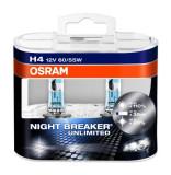 BEC H4 12V 55/60W NIGHT BREAKER UNLIMITED OSRAM