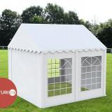 3X4 M CORT EVENIMENTE PROFESIONAL ECONOMY, PVC ALB - Pavilion gradina