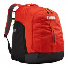 Rucsac clapari Thule RoundTrip Boot Backpack - Black/Roarange Grand Luggage - Husa/Geanta skiuri